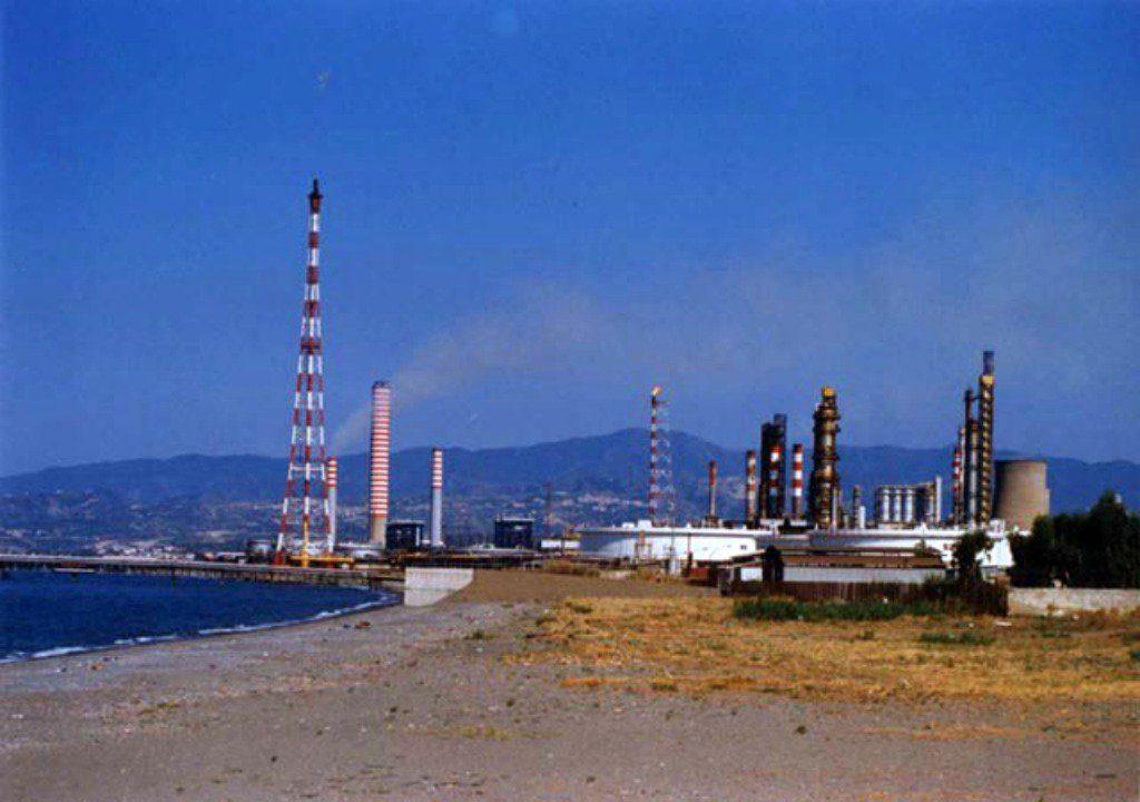 milazzo raffineria