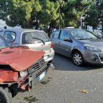 Violento incidente in Via Garibaldi fronte Palazzo Prefettura
