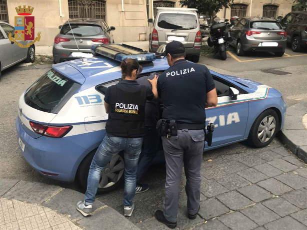 arresto polizia messina