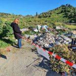 Messina, sequestrate dalla Polizia Municipale due aree del torrente Larderia invase dai rifiuti [FOTO e DETTAGLI]