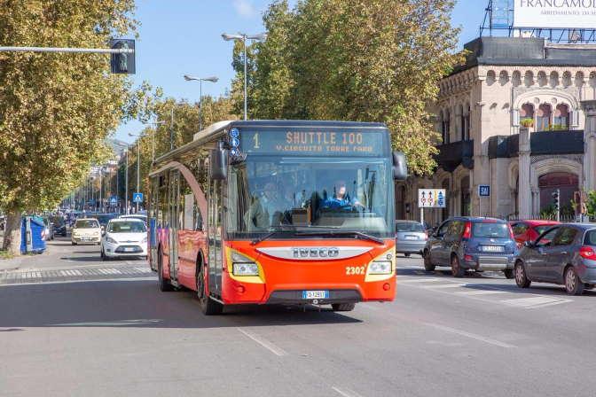 Bus Atm shuttle Messina