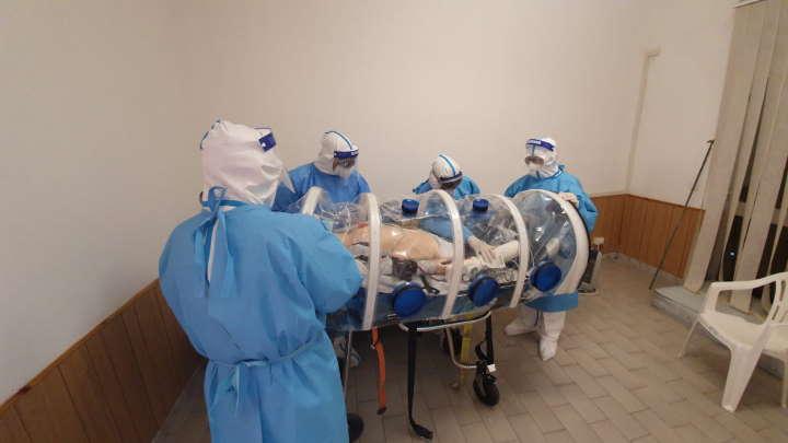 esercitazione coronavirus milazzo