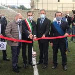 Musumeci inaugura il nuovo stadio di calcio a Santa Teresa Riva