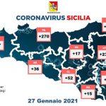 Coronavirus: a Messina 192 positivi in più di ieri, in Sicilia ancora meno ricoverati e 1407 guariti in più [DETTAGLI]